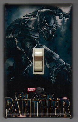 Black Panther Light Switch Cover Plate - Marvel Comics Avengers FREE SHIPPING