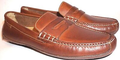 40f59a584 NEW COLE HAAN Grant Canoe Penny Loafer Tan 9 M US Driving Loafers ...