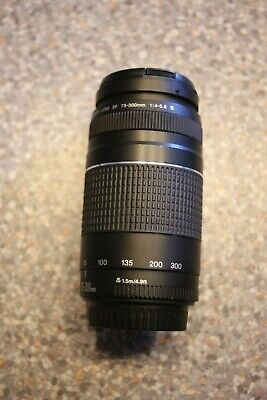 Canon EF 75-300mm 1:4-5.6 Mark III lens for Canon EOS 5D, 50D, 550D DSLR camera