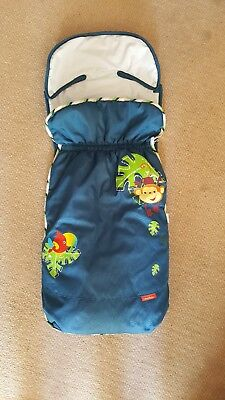 fisher price buggy stroller cosytoes footmuff