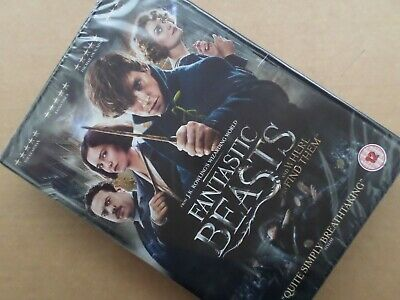 'fantastic Beasts And Where To Find Them' Dvd (2017) J. K. Rowling - Fantasy