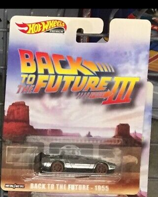Hot Wheels 2019 Retro Entertainment, Back To The Future Iii, Old West Delorean