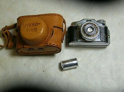 Vintage Mykro Fine Southern Industries Miniature Spy Or Novelty Camera Japan