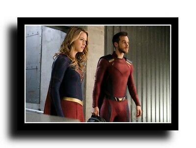 Melissa Benoist Rare New Supergirl Super Girl 8X10 Photo Chris Wood