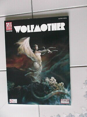Wolfmother Self Titled Guitar Tab Rock Music Song Book New Cherry Lane Pub 2006