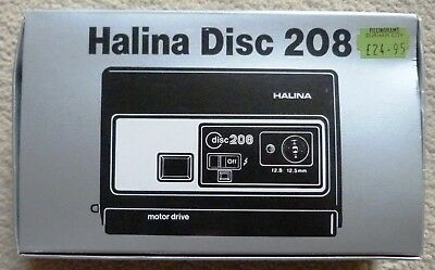 Halina 208 Disc Camera - Box Only with Instructions