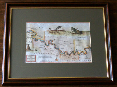 John Leach – Antique Map Africa - River Gambia from Eropina to Barrakunda 1732