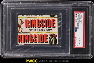 1951 Topps Ringside Boxing Unopened Wax Pack PSA 8 NM-MT (PWCC)