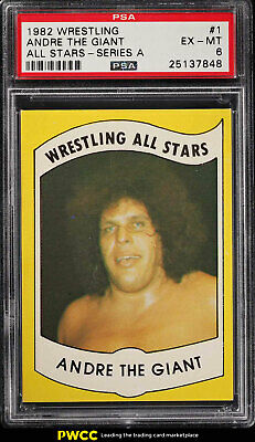 1982 Wrestling All-Stars Series A Andre The Giant #1 PSA 6 EXMT (PWCC)