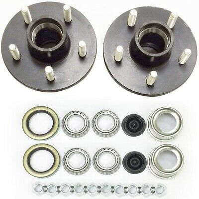 Trailer Axle Kits with Hardware Pack of 2 The ROP Shop Rated 1250 lb Each for 2000 lb axle