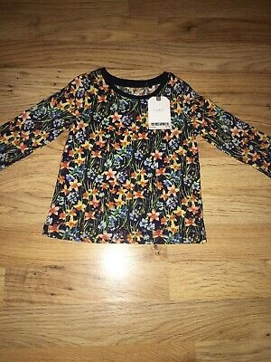 Next Baby Girl Floral Top Size 6-9 Months