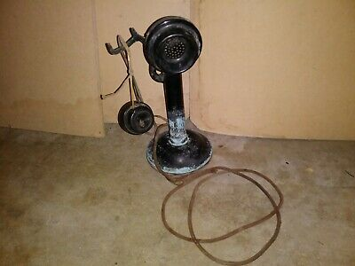 Western Electric Company Candlestick Antique Telephone Vintage Phone