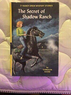 Excellent Condition The Secret of Shadow Ranch  Carolyn Keene Grosset & Dunlap