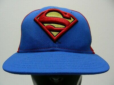 7ce571fba7a NEW ERA X DC universe Superman All Over 59Fifty Fitted Baseball Cap ...