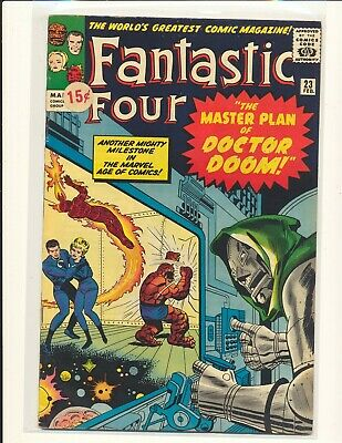 Fantastic Four # 23 VG+ Cond. price sticker on cover