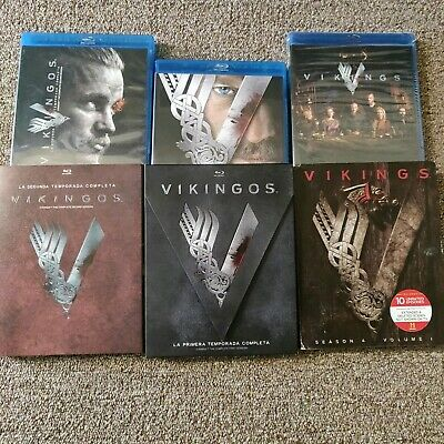 Vikings: The Complete  Season  1-2 and 4 Volume 1 Blu ray Brand New