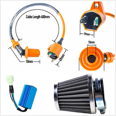 Racing Ignition Coil Spark Plug Cdi Air Filter For Gy6 Scooter Go Kart 50 150cc