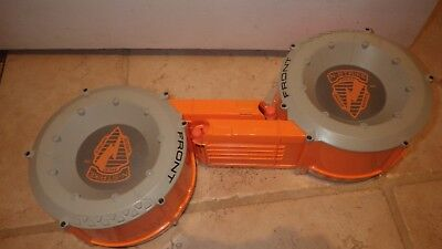 Lot of 2 Nerf N-Strike Ammo Drum 35 Dart Count Round Magazines Clips
