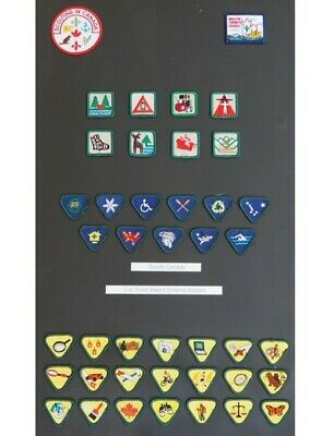 Scouts Canada - Set of Cub Scout Award Scheme Badges / Patches - 42 total!