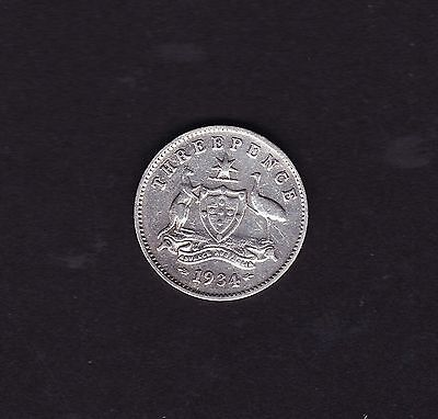 1934 Threepence George V