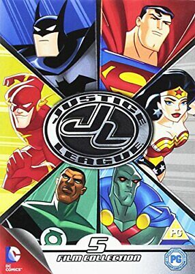 Justice League Collection [DVD] [2014] - DVD  DAVG The Cheap Fast Free Post