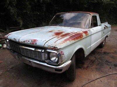 Ford Xp Falcon Ute Project 1966 1965