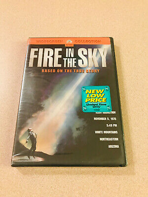 Sci-Fi Thriller 'Fire In The Sky' DVD Sealed New Paramount Pictures OOP