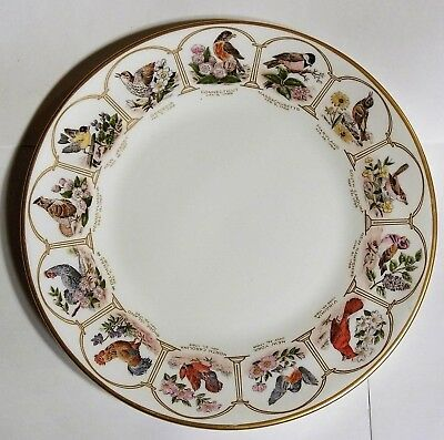 Boehm Bird & Flowers of the 13 Original States Commemorative  Anniversary Plate