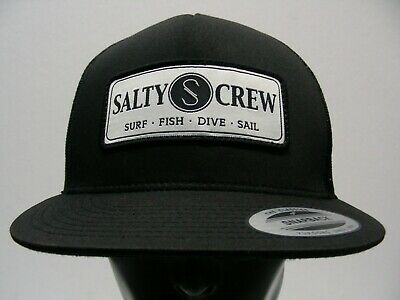 374acf20d50 Salty Crew - Surf Fish Dive Sail - One Size Adjustable Snapback Ball Cap Hat !
