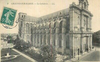 Cp Chalons-Sur-Marne Cathedrale Ll