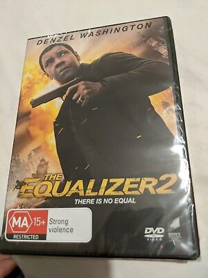 The Equalizer 2 (2018, DVD) Brand New Sealed Region 4