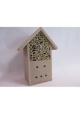 Insect & Bee Hotel House Box Wooden Hanging Nest Bug Ladybird Garden Bee Keeping