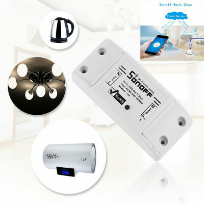 Sonoff Basic Smart Home WiFi Wireless Switch Module Fr IOS Android APP Control