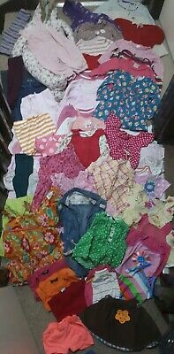 Huge Bundle Of Baby Girl Clothes 9-12months #702 NEXT GEORGE M&S MINICLUB