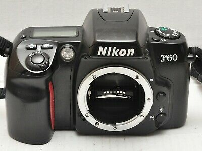 Nikon F60 35mm Camera Body Fully working with Instructions