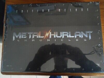 Coffret Blu-Ray/dvd Metal Hurlant Chronicles Edition Deluxe Neuf Sous Blister