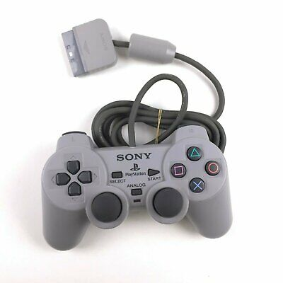 Official Sony Playstation PS1 Analog Controller PS2 Wired OEM
