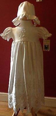 Christening Gown White age 0-3 months BNWTS