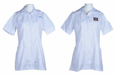 Ladies Tunic Nurses Uniform Salon Beauty Healthcare Medical Dental Therapist Top