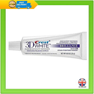 Crest 3D White Brilliance Teeth Whitening Toothpaste