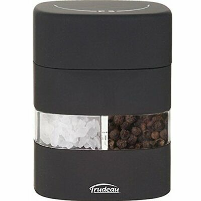 Trudeau 2 in 1 salt and pepper grinder mill black, £0.01 no reserve