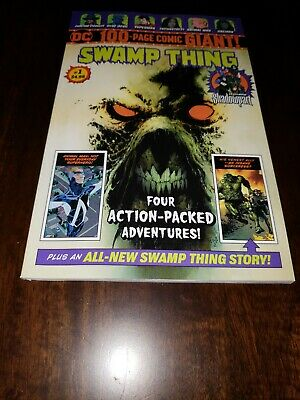 Dc 100 Page Giant Swamp Thing 1 ! Walmart Exclusive! Sold Out!
