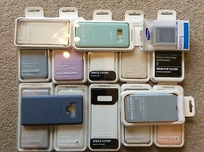33 x Genuine Samsung Mobile Phone Covers and Accessories