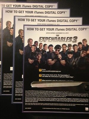 The Expendables 3 (Digital Code Only) Canada redemption only!