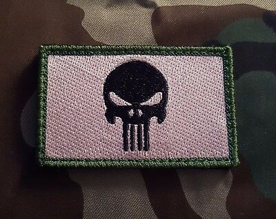 Punisher Camo Moral Patch Tactical Military Abzeichen Airsoft Paintball