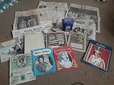 Royal Family Collectables- Books, Souvenir Booklets & Newspapers