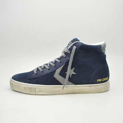 converse pro leather uomo blu