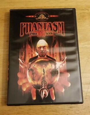 PHANTASM IV: OBLIVION 1998 Don Coscarelli (DVD MGM 2000) Out-of-print- LIKE NEW!