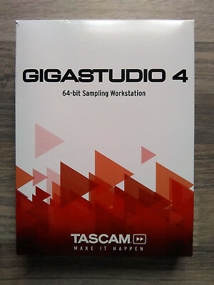 ⭐️⭐️⭐️⭐️⭐️ Tascam Gigastudio 4 dongle NEW Orchestra Instruments complete 20xCDs