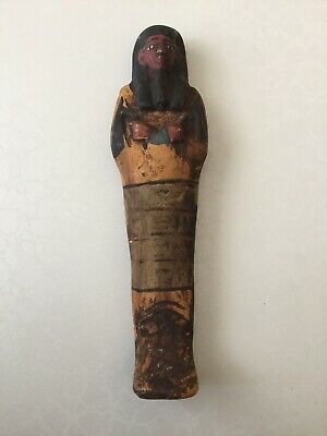 Rare Ancient Eygption Ushabti Shabti Late Period 250bc